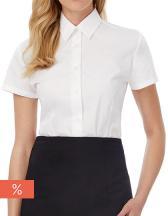 Women´s Poplin Shirt Smart Short Sleeve