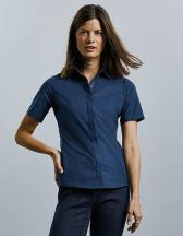 Ladies´ Short Sleeve Fitted Ultimate Stretch Shirt